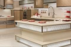 مطبخ المنيوم و زجاج
